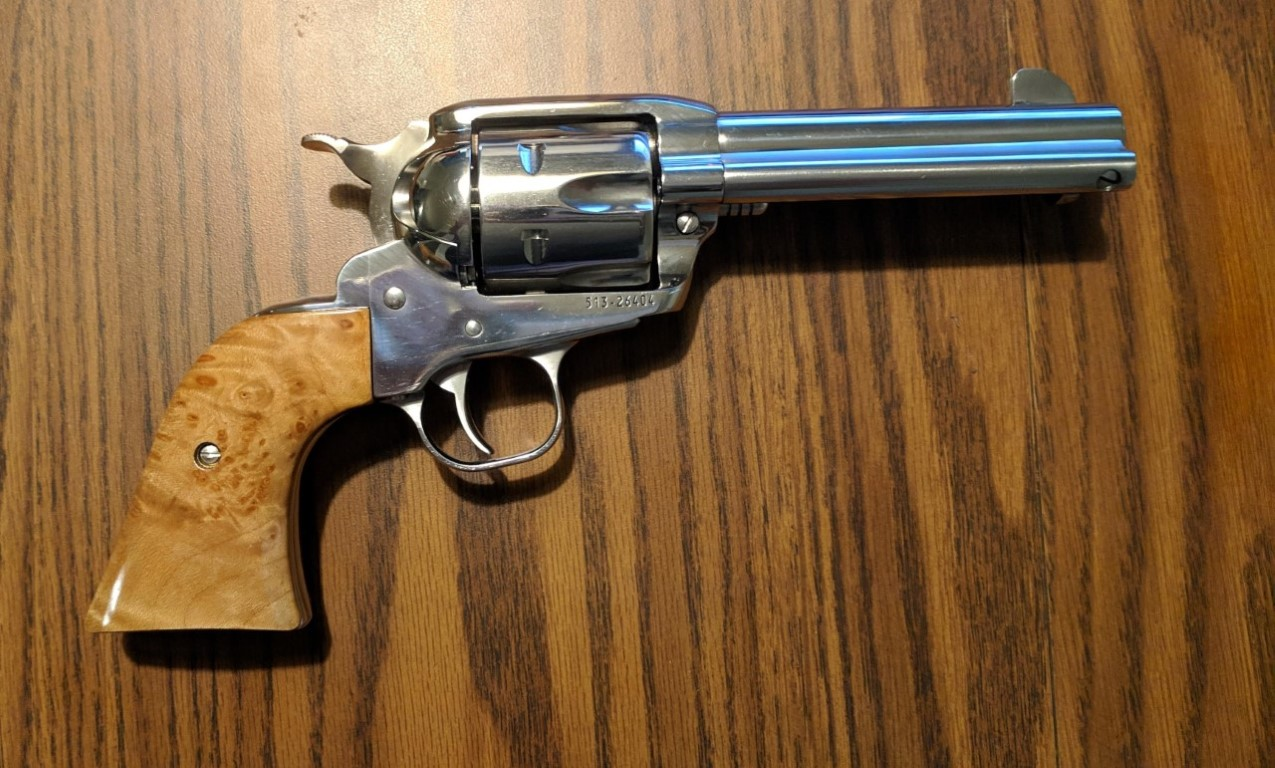 Ruger Single Action Revolver Grips   Chig's Grips